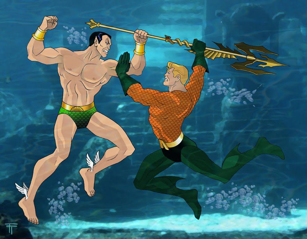 Namor vs Aquaman
