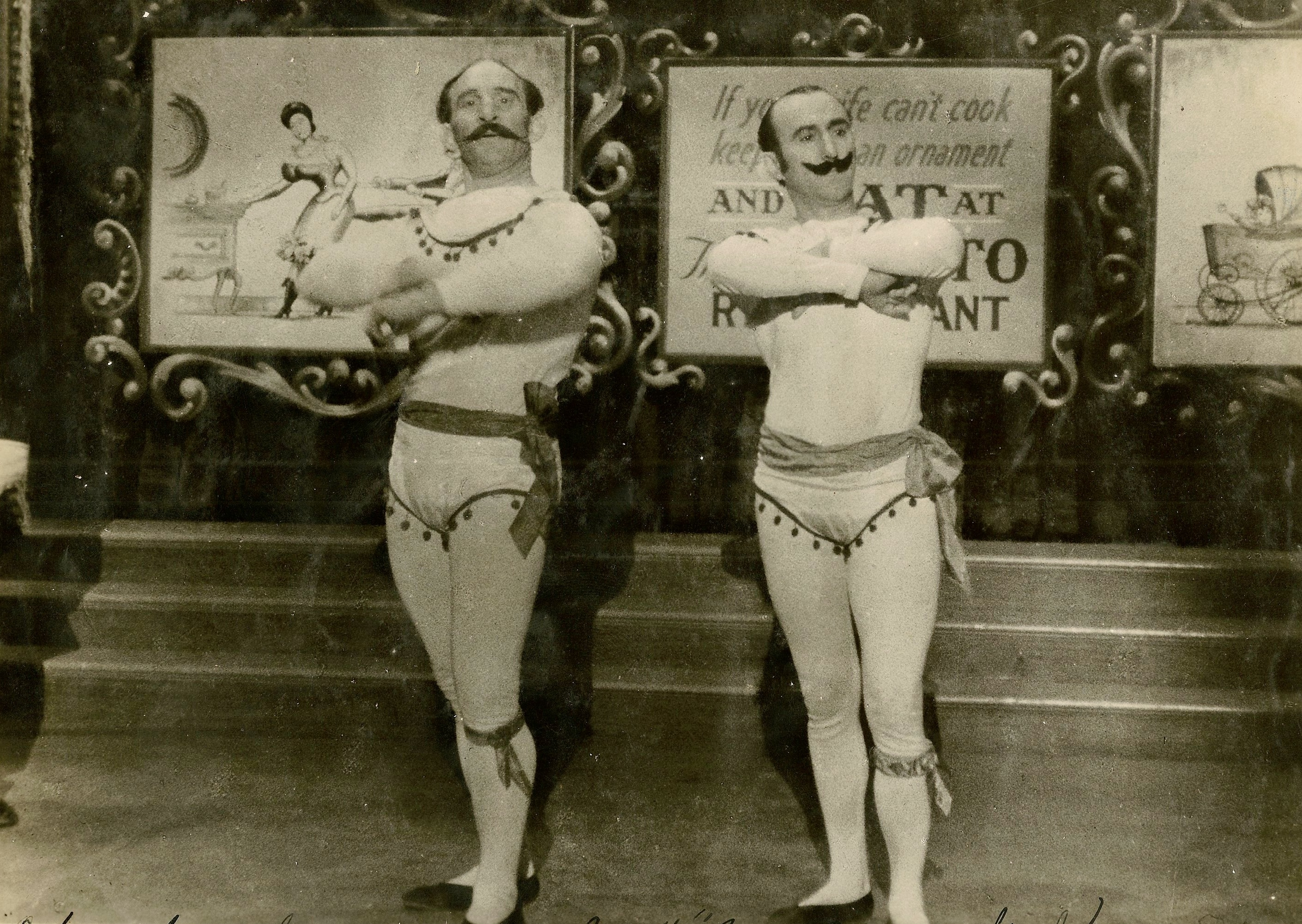 old-time-acrobats
