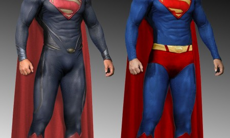 superman__man_of_steel_costume_comparison